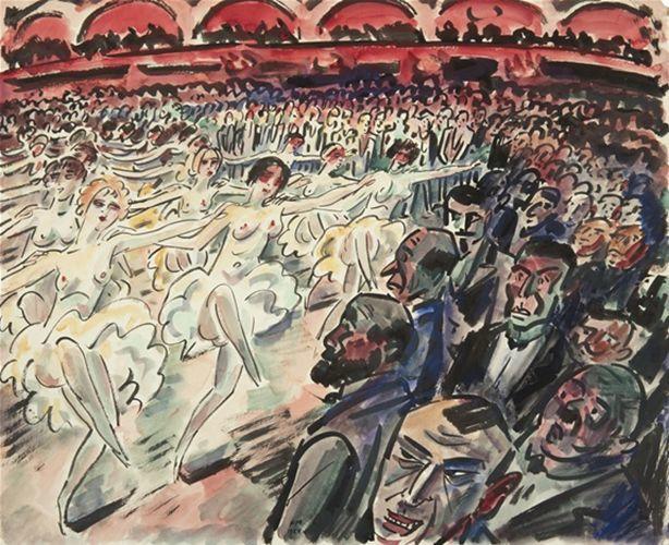 比利时画家Frans Masereel插图1