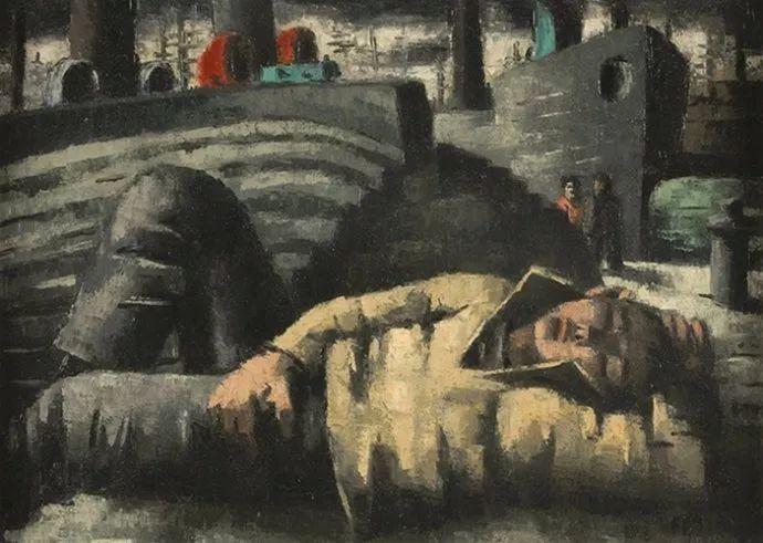 比利时画家Frans Masereel插图2