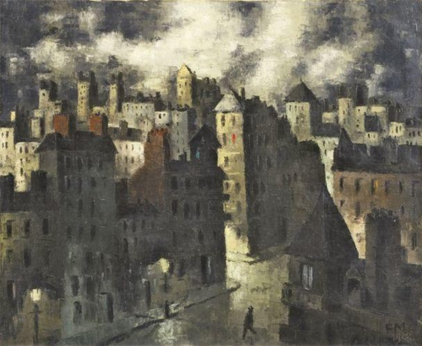 比利时画家Frans Masereel插图3