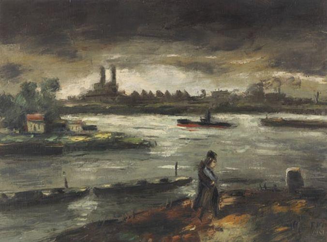 比利时画家Frans Masereel插图4