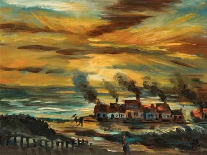 比利时画家Frans Masereel插图6