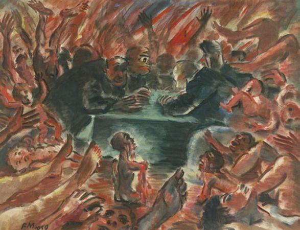 比利时画家Frans Masereel插图8