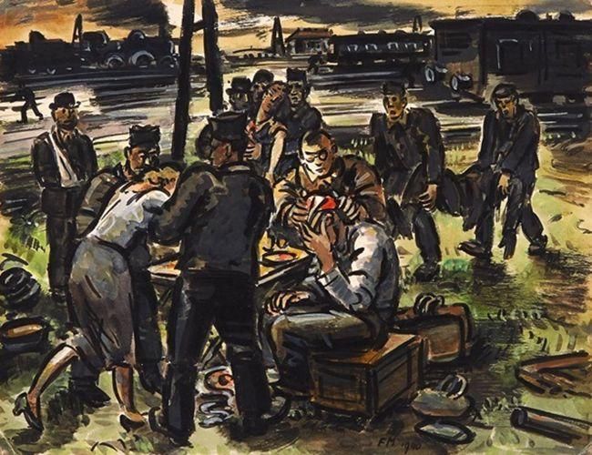比利时画家Frans Masereel插图9