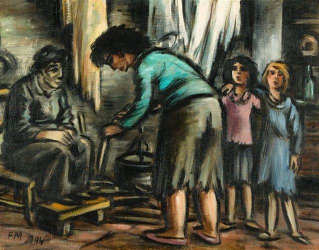 比利时画家Frans Masereel插图10
