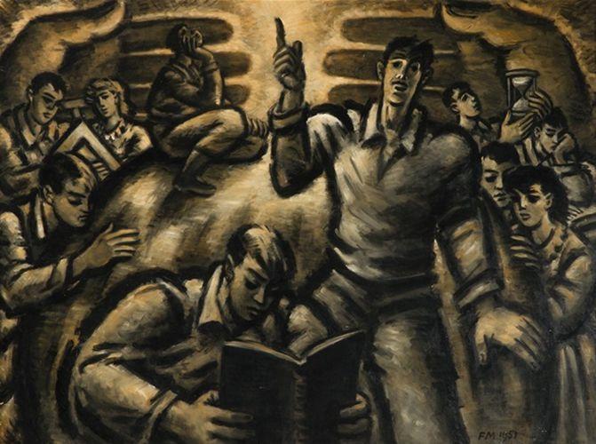 比利时画家Frans Masereel插图16