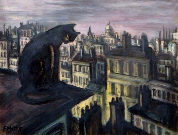 比利时画家Frans Masereel插图17