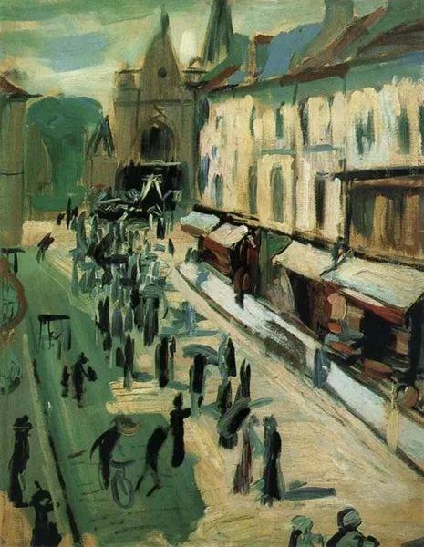法国画家德朗   野兽派的先驱之一插图4