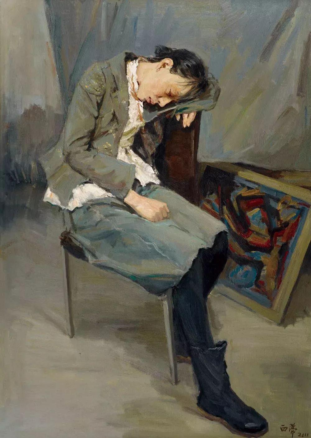 很难想到这作品出自一位清瘦高挑的美女艺术家之手插图49