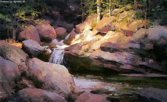 大自然是最好的老师 美国画家Mark Boedges插图39