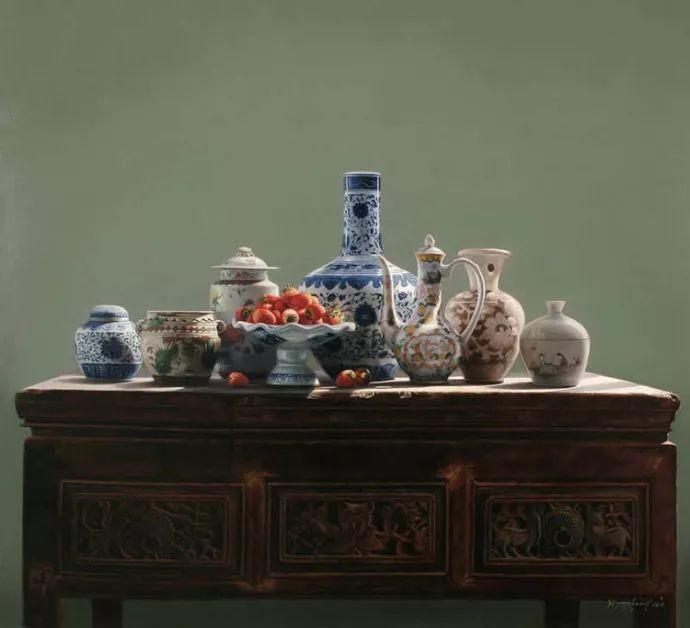 中国式静物油画——刘影钊插图47