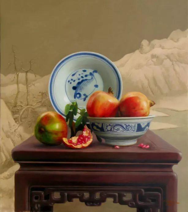 中国式静物油画——刘影钊插图95