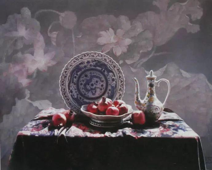 中国式静物油画——刘影钊插图103