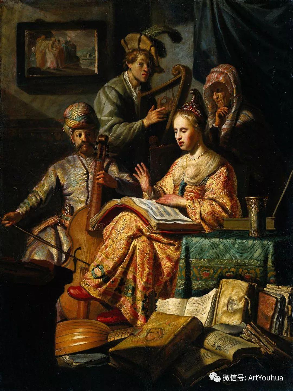 No.24 伦勃朗 | 17世纪欧洲最伟大的画家之一插图2