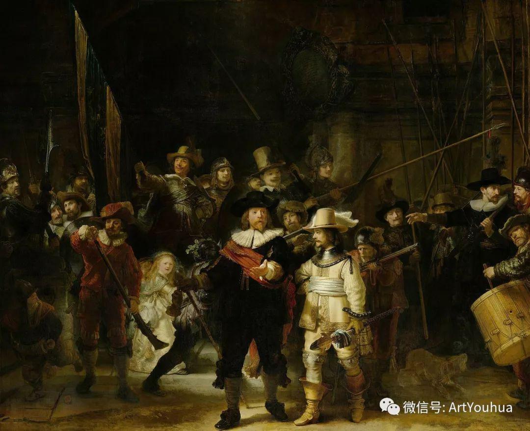 No.24 伦勃朗 | 17世纪欧洲最伟大的画家之一插图7