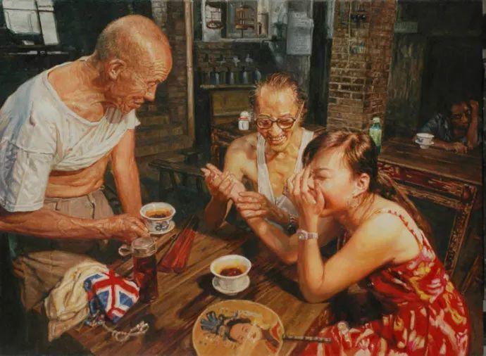 他画了20年,把重庆最破的茶馆画成了最火的网红店插图7