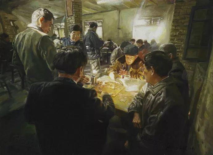 他画了20年,把重庆最破的茶馆画成了最火的网红店插图19