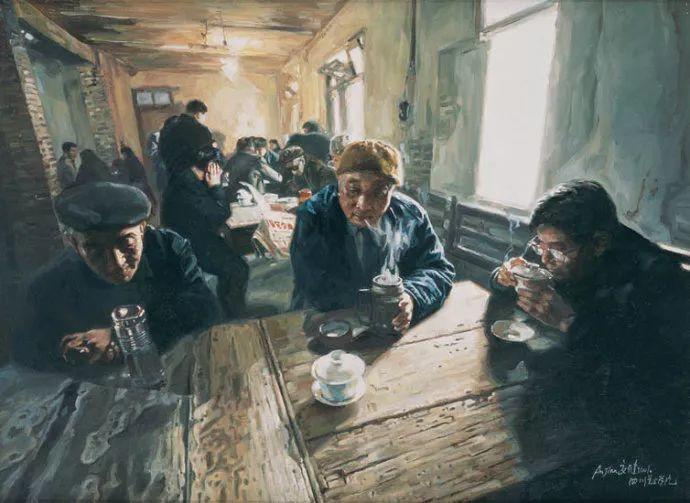 他画了20年,把重庆最破的茶馆画成了最火的网红店插图25