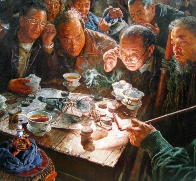 他画了20年,把重庆最破的茶馆画成了最火的网红店插图27