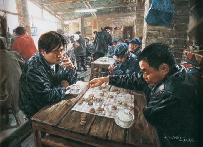 他画了20年,把重庆最破的茶馆画成了最火的网红店插图29