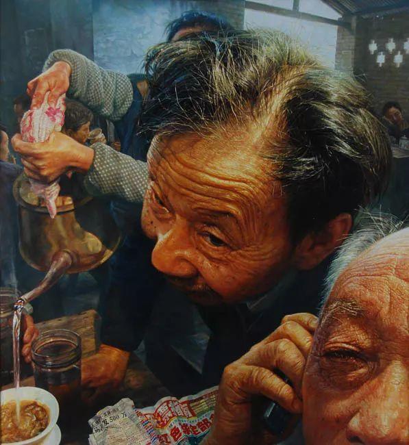他画了20年,把重庆最破的茶馆画成了最火的网红店插图37