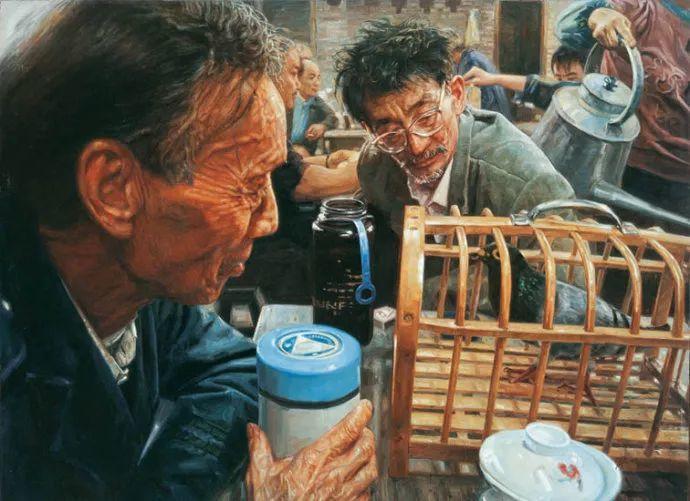他画了20年,把重庆最破的茶馆画成了最火的网红店插图39