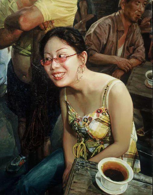 他画了20年,把重庆最破的茶馆画成了最火的网红店插图41