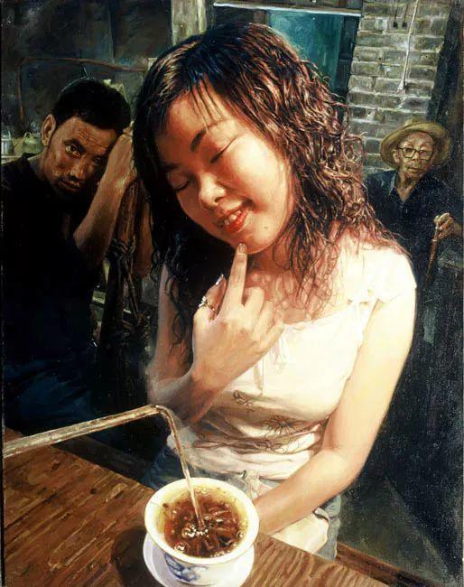 他画了20年,把重庆最破的茶馆画成了最火的网红店插图43