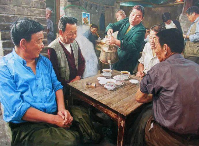 他画了20年,把重庆最破的茶馆画成了最火的网红店插图45