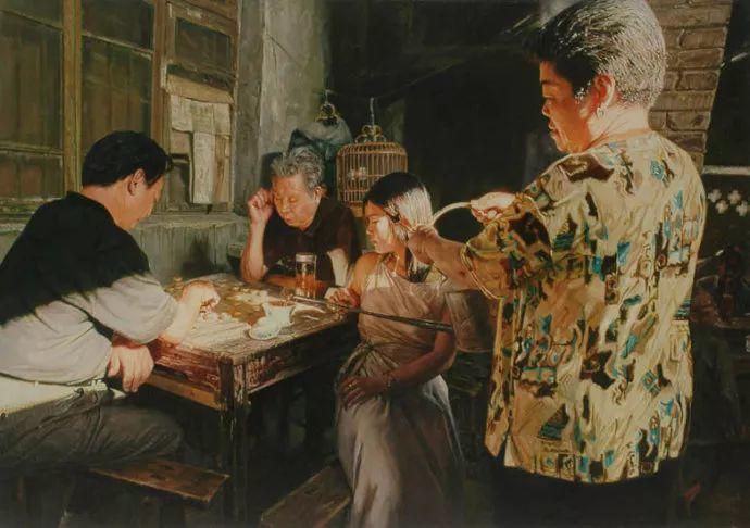 他画了20年,把重庆最破的茶馆画成了最火的网红店插图47