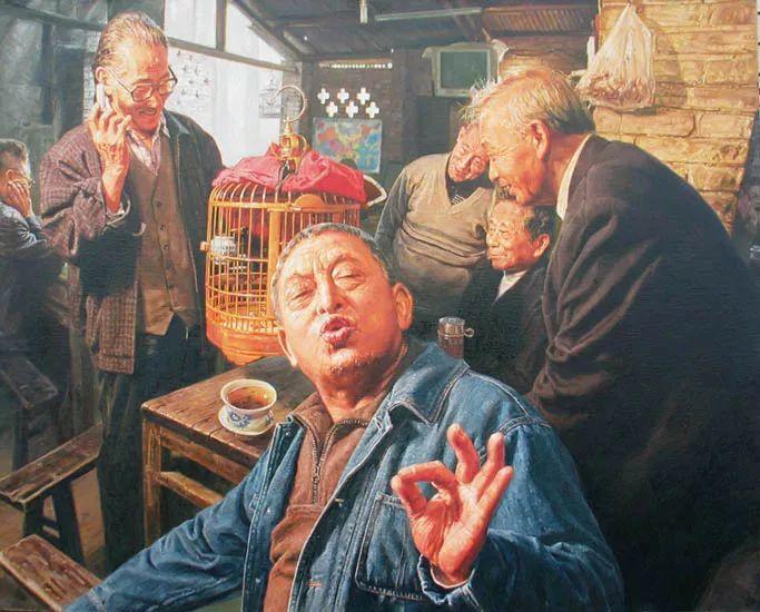 他画了20年,把重庆最破的茶馆画成了最火的网红店插图49