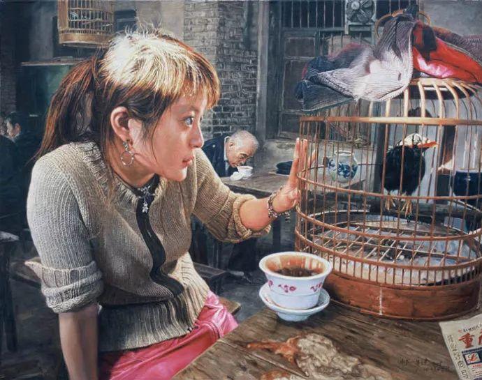 他画了20年,把重庆最破的茶馆画成了最火的网红店插图51