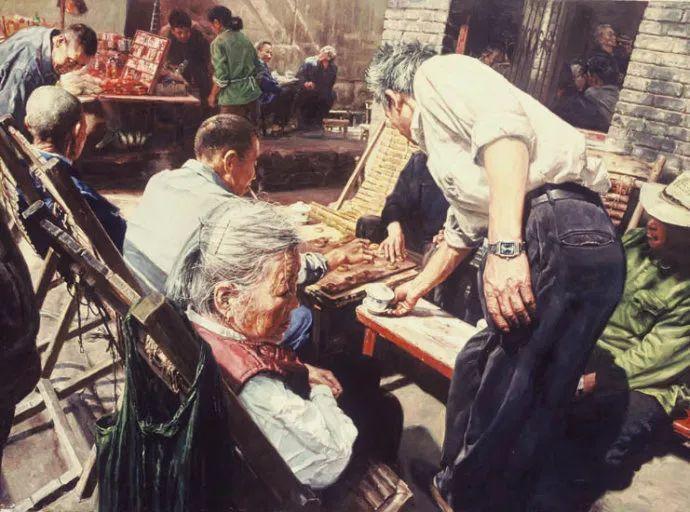 他画了20年,把重庆最破的茶馆画成了最火的网红店插图55