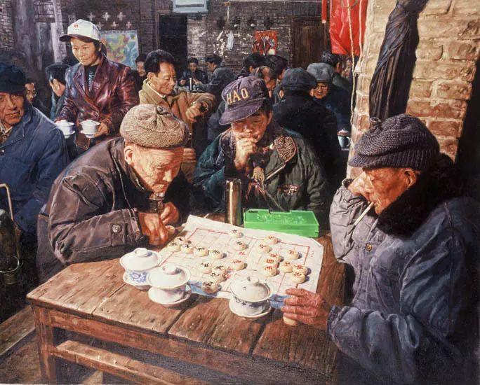 他画了20年,把重庆最破的茶馆画成了最火的网红店插图57