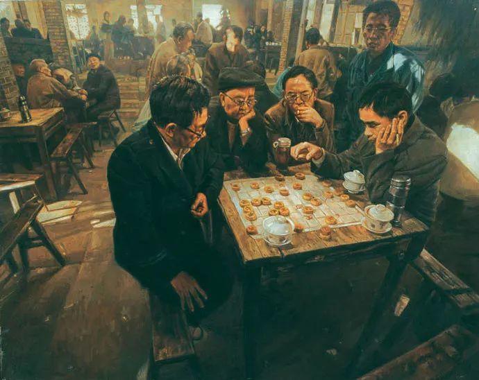他画了20年,把重庆最破的茶馆画成了最火的网红店插图61