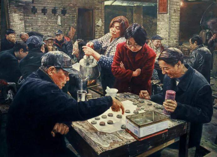 他画了20年,把重庆最破的茶馆画成了最火的网红店插图69