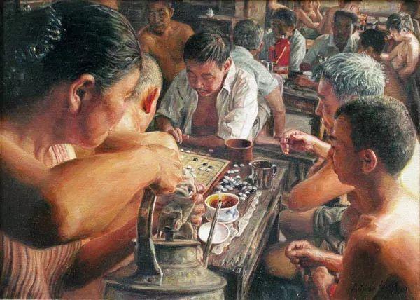他画了20年,把重庆最破的茶馆画成了最火的网红店插图71
