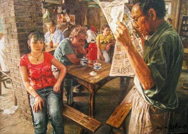 他画了20年,把重庆最破的茶馆画成了最火的网红店插图87