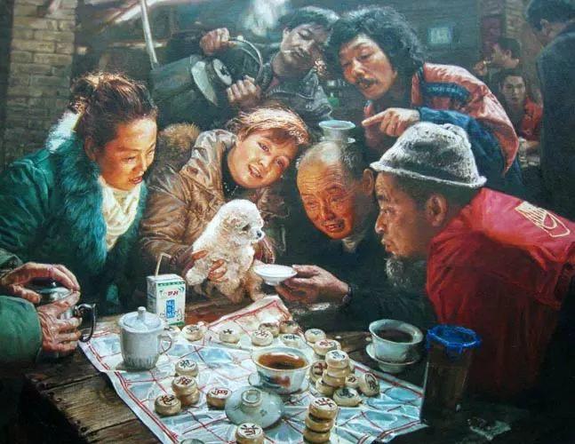 他画了20年,把重庆最破的茶馆画成了最火的网红店插图93
