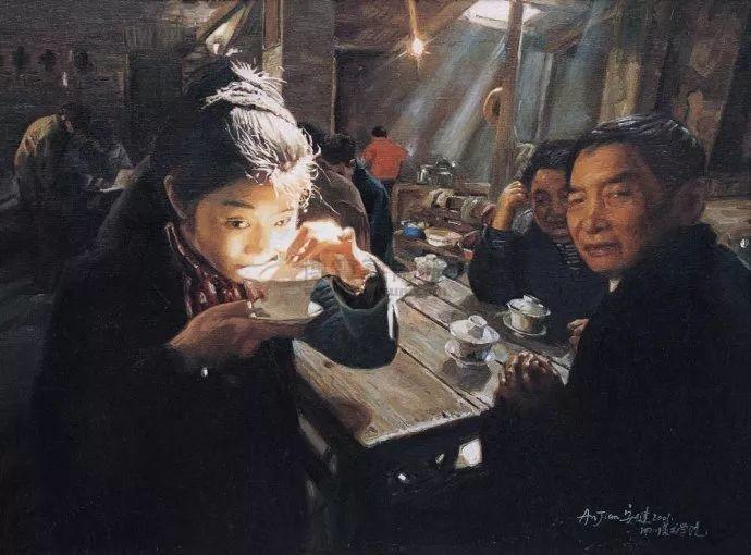 他画了20年,把重庆最破的茶馆画成了最火的网红店插图101