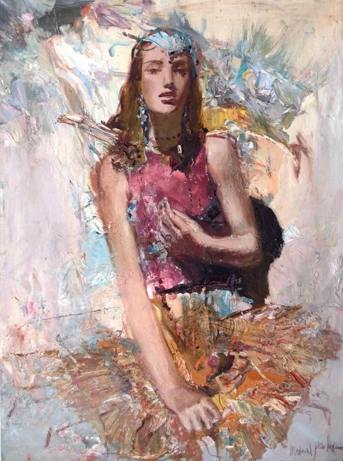 俄罗斯艺术家Mstislav Pavlov油画作品插图7