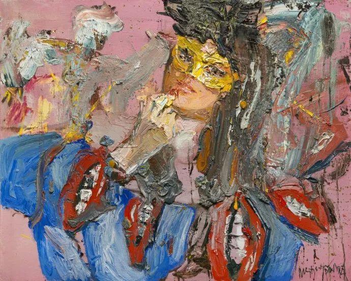 俄罗斯艺术家Mstislav Pavlov油画作品插图25