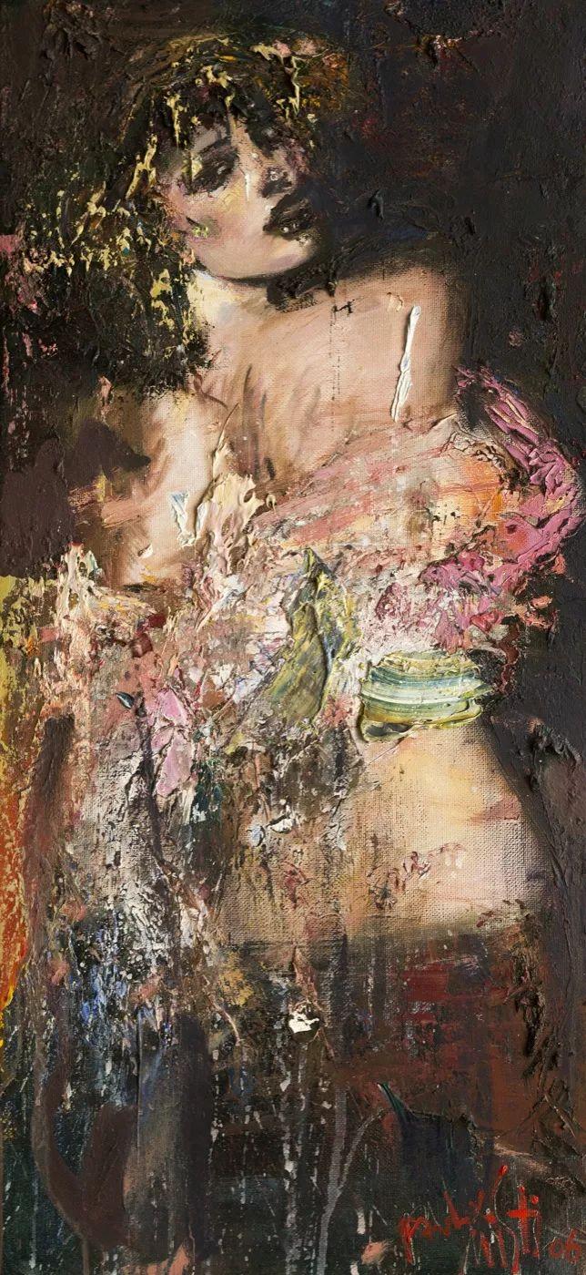 俄罗斯艺术家Mstislav Pavlov油画作品插图37