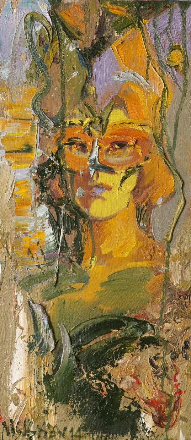 俄罗斯艺术家Mstislav Pavlov油画作品插图45