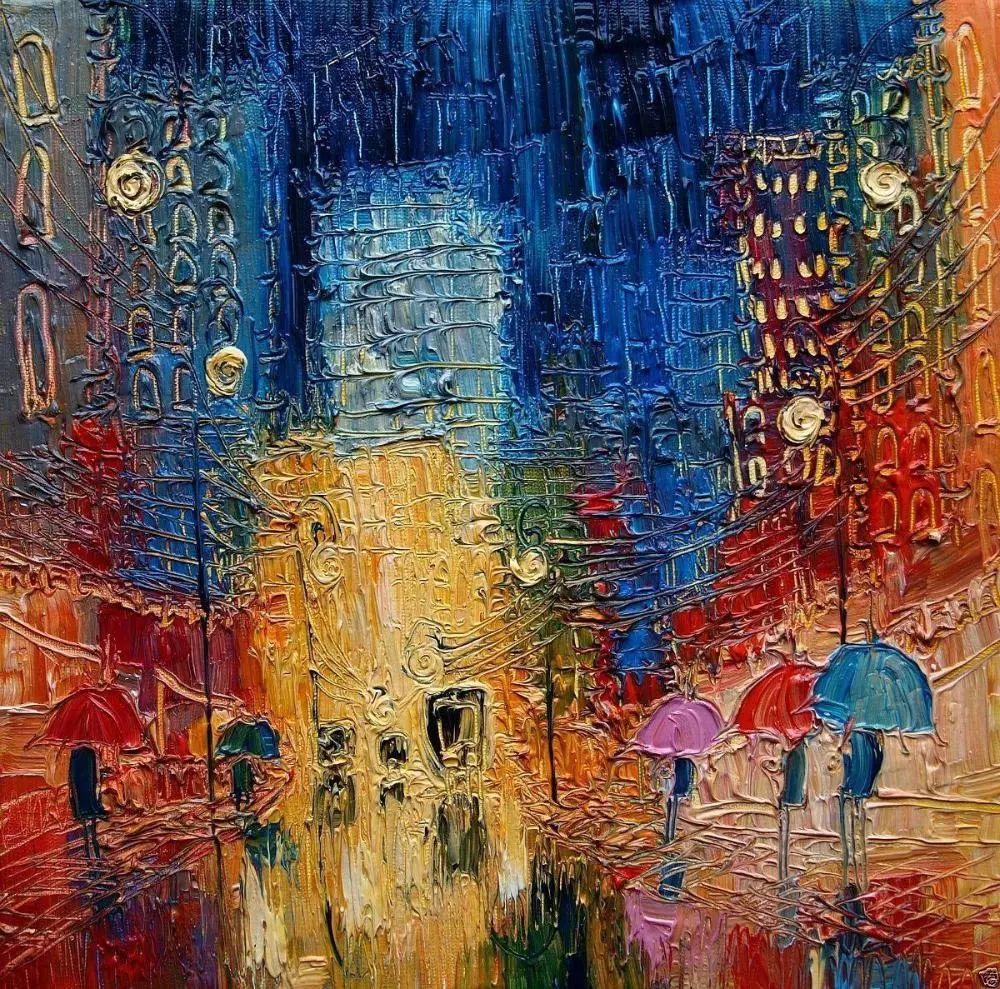 街景油画 波兰女艺术家Justyna Kopania插图11
