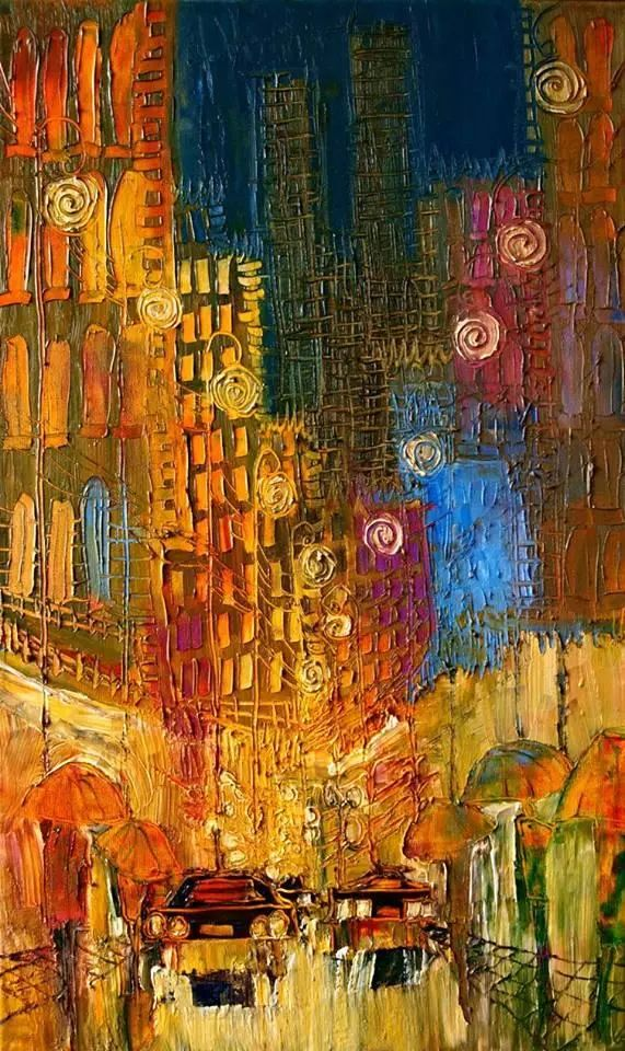 街景油画 波兰女艺术家Justyna Kopania插图15