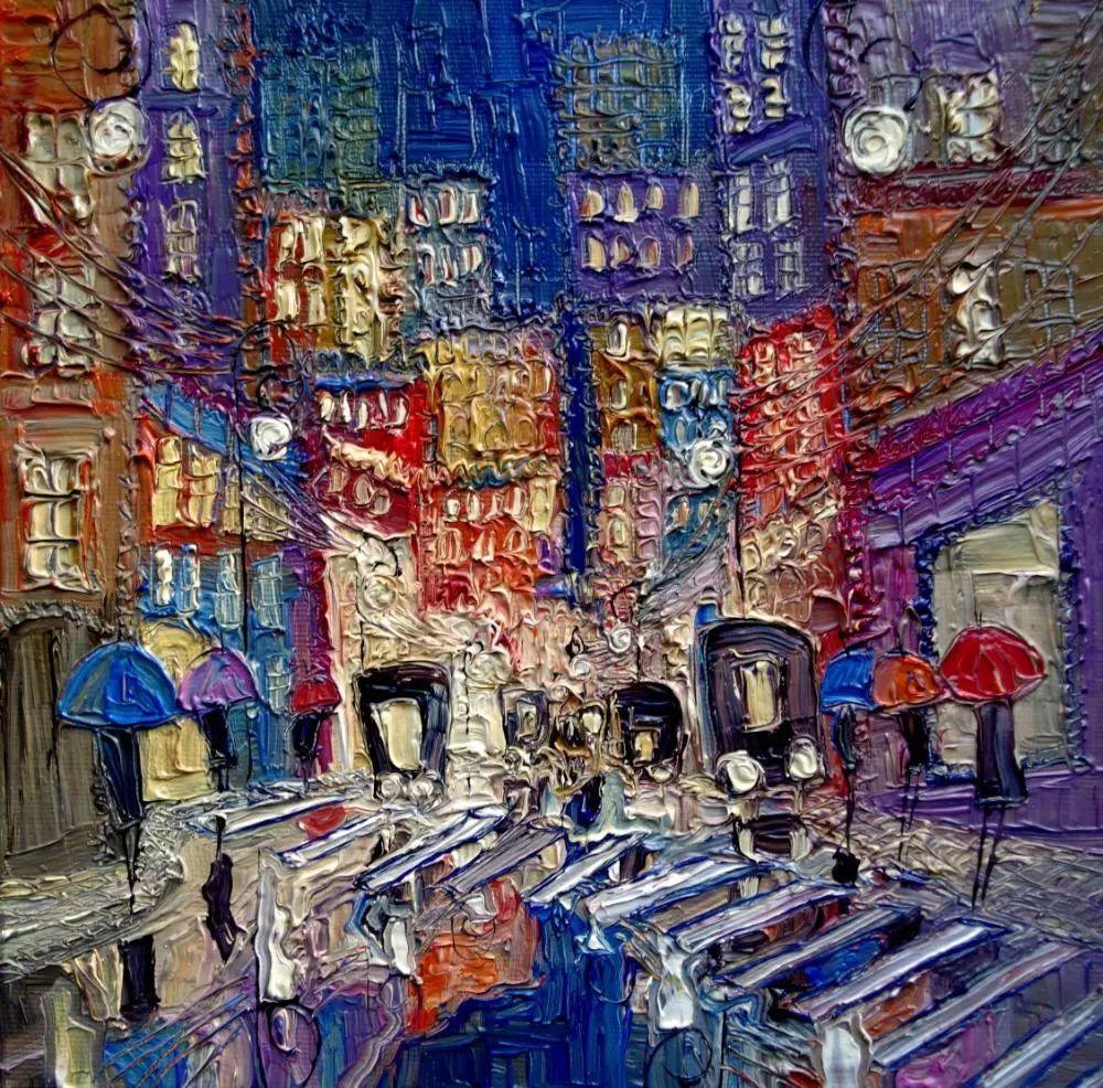 街景油画 波兰女艺术家Justyna Kopania插图17