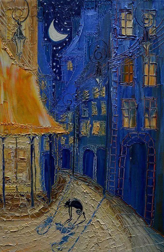 街景油画 波兰女艺术家Justyna Kopania插图19