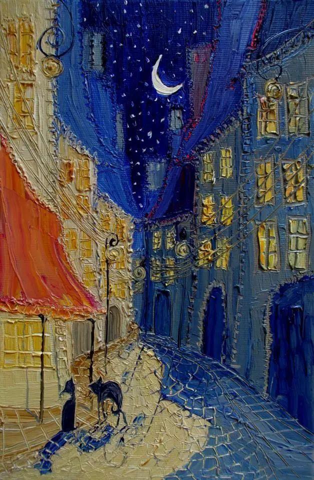街景油画 波兰女艺术家Justyna Kopania插图21