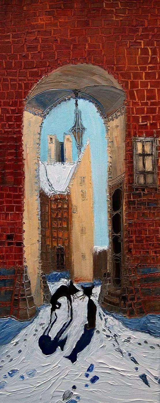 街景油画 波兰女艺术家Justyna Kopania插图33