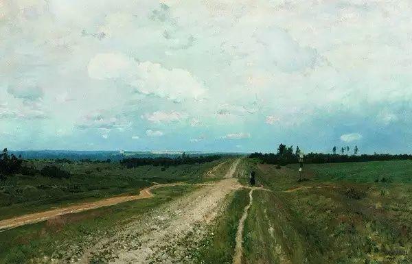 列维坦   俄罗斯杰出的写生画家 现实主义风景画大师插图